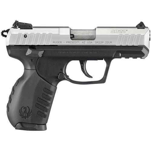 Ruger SR22 PS  22LR - Silver